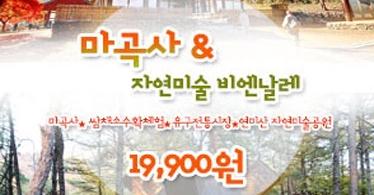 공주 마곡사+공산성+유구전통시장+연미산자연미술비엔날레